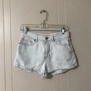 Pacsun BULLHEAD high-rise Jean shorts